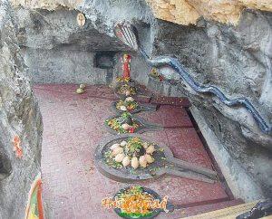 Gangeshwar Temple near Diu in Gujarat