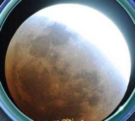lunar eclipse in Singapore