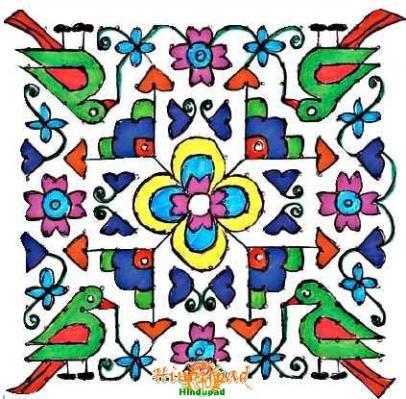 rangoli design 269