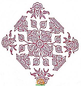 sankranthi rangoli with dots 6