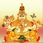 Simha Ganapati, Lion faced Ganesha