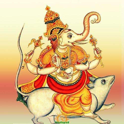 Srishti Ganapati, Srishti Ganesha