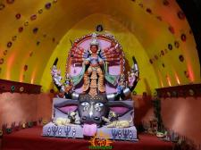 BE Block Durga Puja