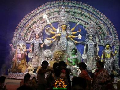 BJ Block Durga Puja