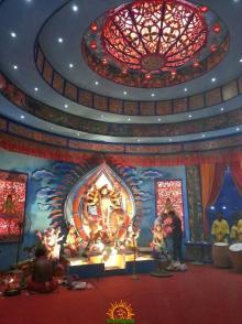 FD Block Durga Puja