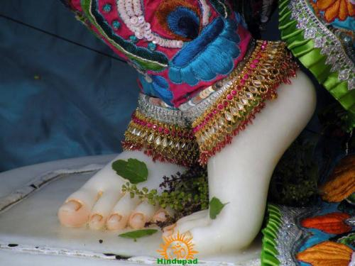 Krishna Padapuja