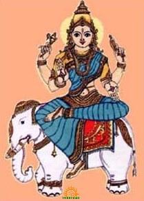 Goddess Indrani shakti of lord indra