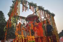 Kumbh Mela 2013 - Allahabad - Shri Panch Agni Akhadaa
