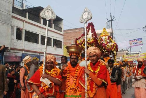 Kumbh Mela 2013 – Allahabad – Taponidhi Shree Anand Akhadaa Panchayati