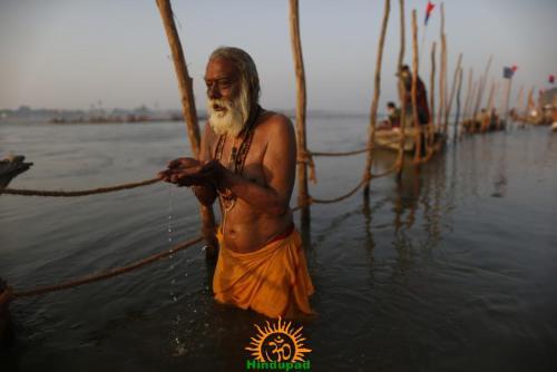 Kumbh Mela 2013 Surya Arghya