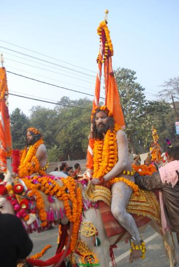 Kumbh Mela - Allahabad: Panchayati Akhadaa Shree Niranjani 1