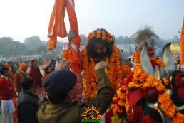 Kumbh Mela - Allahabad: Panchayati Akhadaa Shree Niranjani 4