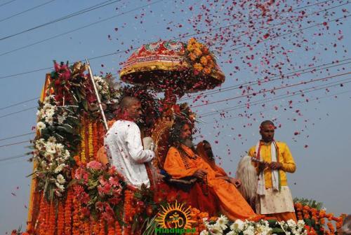 Kumbh Mela – Allahabad: Shri Panchayati Akhadaa Mahanirvani 2