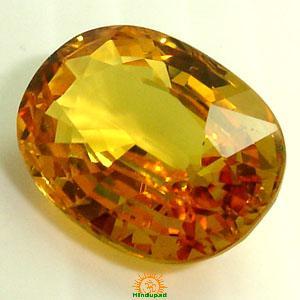 yellow sapphire pushyaraga
