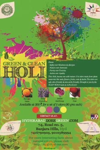 Hyderabad Goes Green Hindupad