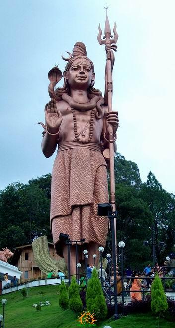 Kailash Mahadev statue, world's tallest Shiva idol