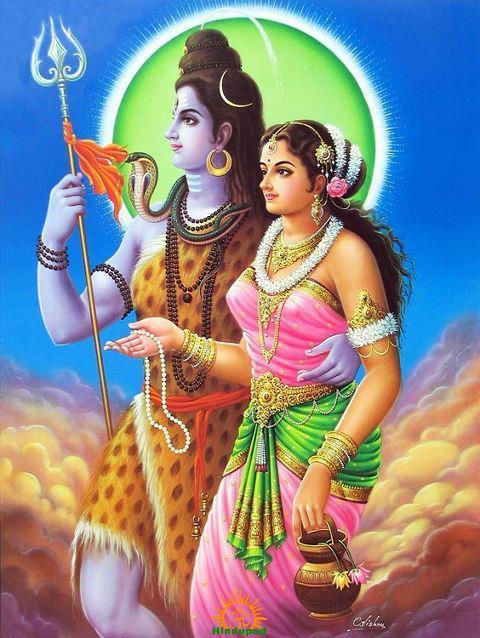 Umamaheshwara Lord Shiva Parvati