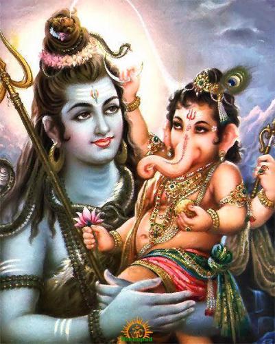 Vignesha Anugrahamurthi – Shiva with Ganesha