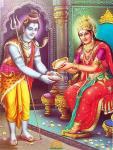 Annapurna Devi Lord Shiva