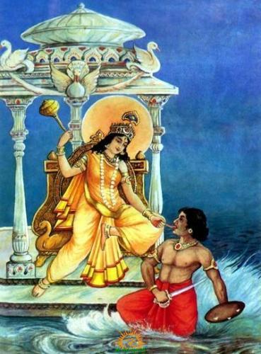 Bagalamukhi Mahavidya