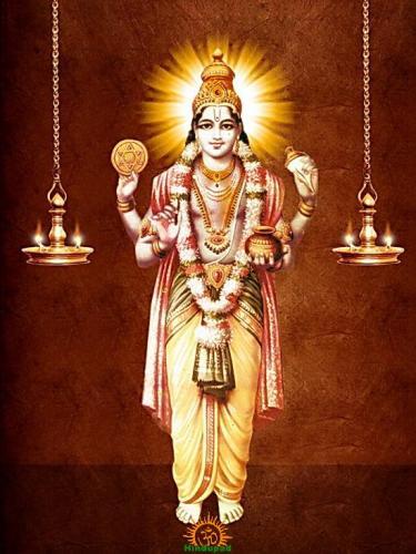 Lord Dhanvatari