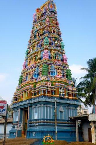 Ponnur Hanuman Temple Gopuram
