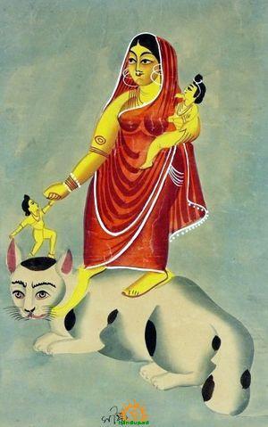 Shashti Mata Goddess Sasthi