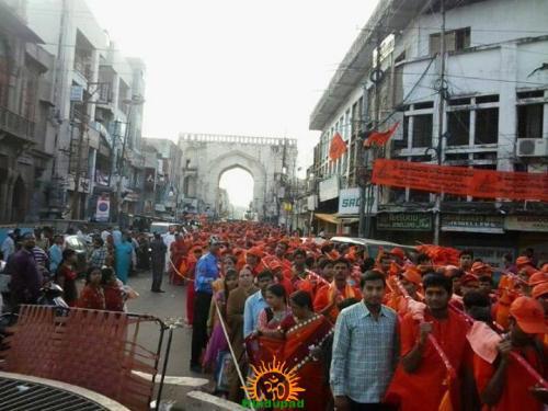 Bhagynagar Kavad Seva Sangh Kavad Yatra