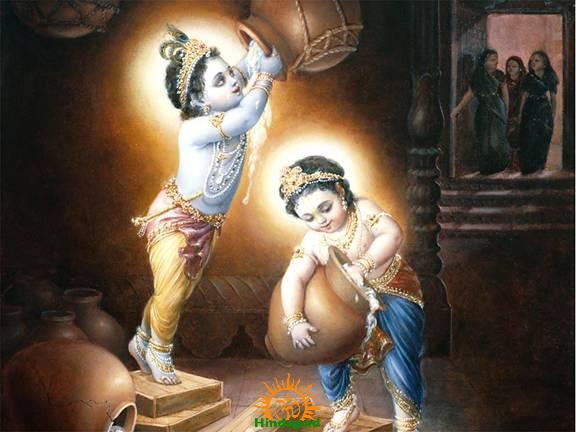 Dahi Handi of Lord Krishna