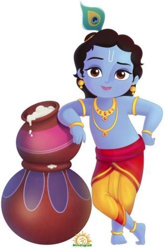 Krishna Makhan chor