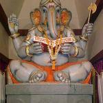 Ahkhil Mugbhat Ganesh Mandal at Girgaon