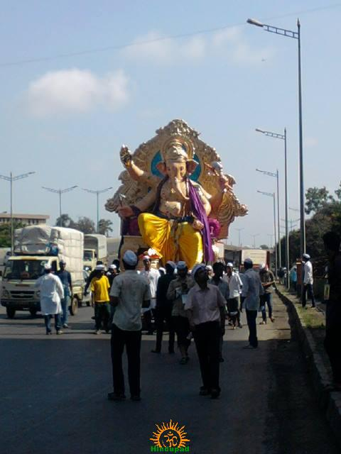 Andhericha Raja 2013 in Mumbai
