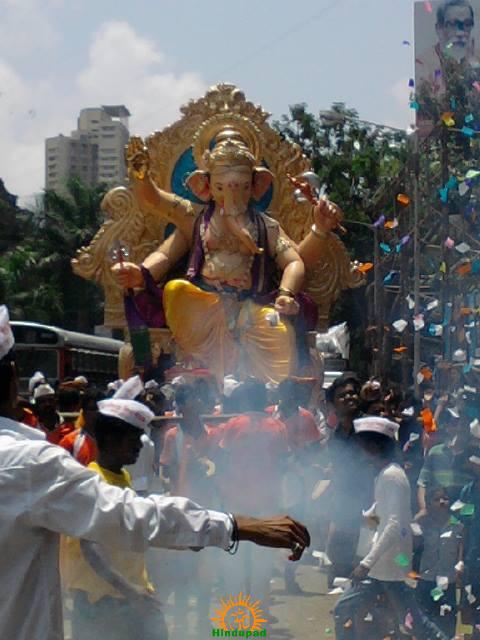 Andhericha Raja Ganesh idol 2013