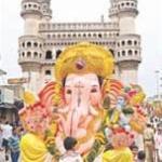 Ganapathi at Charminar