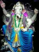 Ganesh Galli Ganpati 2013 Ganesha idol