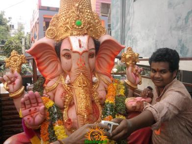 Ganesh immersion in Hyderabad 14
