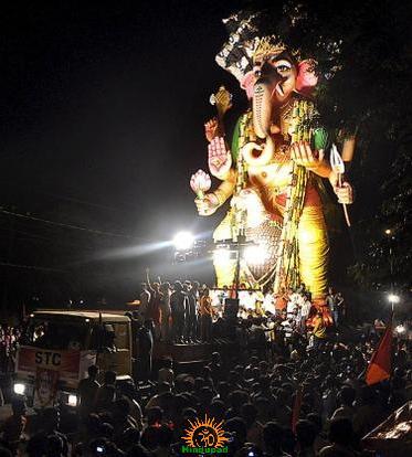 Khairatabad Ganesh immersion