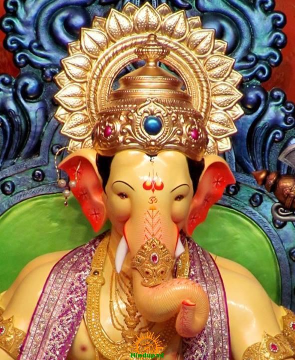 Lalbaugcha Raja 2013 Ganesha idol