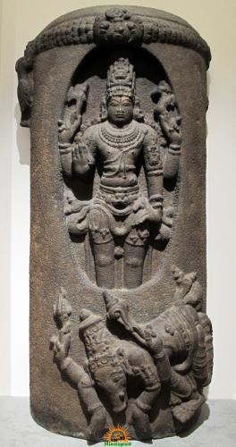 Lingodbhavamurti form of Lord Shiva