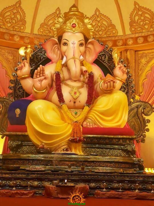 Marwadi Press Ganesh Mandal Ganpati Akola