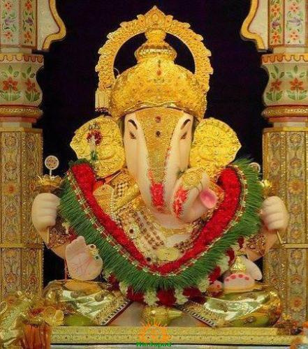 Shrimant Dagdusheth Ganpati 2013 in Pune