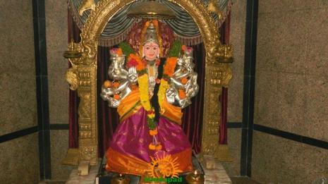 Balatripura Sundari Alankaram in Annojiguda Gayatri Peetham