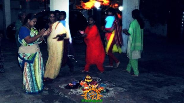 Bathukamma in Hyderabad 1