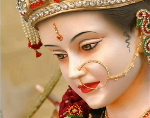 Durga Mata face HD