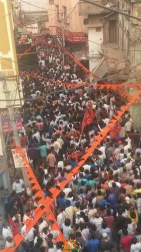 Ram Navami Shobha Yatra in Hyderabad 10