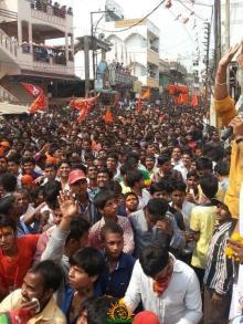 Ram Navami Shobha Yatra in Hyderabad 11