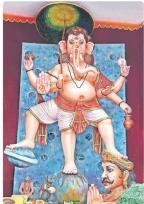 Chaitanyapuri Ganesh 2014