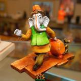 Lord Ganesha as a Traveller Tourist