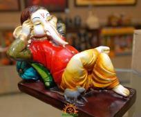 Lord Ganesha as sleeping Ganapati