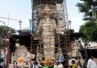 Making Khairatabad Ganapati 2014 1